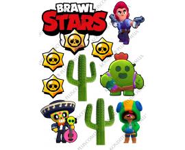 вафельная картинка brawl stars5