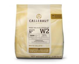 "Шоколад белый ""Callebaut W2"" 28% (400грамм)"