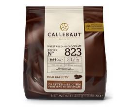"""Молочный шоколад """"Callebaut""""33.6% (400 грамм)"""