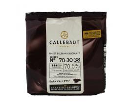"""Шоколад чёрный """"Callebaut kuverture"""", 70.5% (400гр)"""