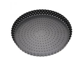 Перфорированная форма для тарта со съемным дном 24см