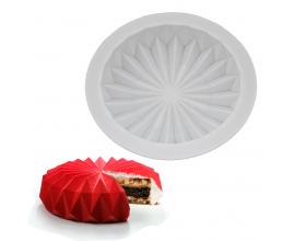Силиконовая форма для евро-десертов Грани