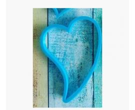 вытянутое сердце, 12 см