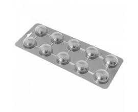 молд пластиковый полусфера, 3,8 см