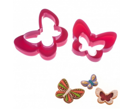 набор вырубок бабочки 11-5,5 см