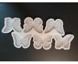 молд силиконовый бабочи, 5 см
