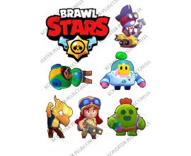 вафельная картинка brawl stars 15