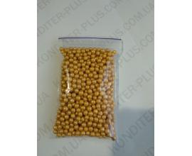 шарики золото 3-5 мм, нежные и вкусные, 50 грамм