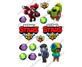 вафельная картинка brawl stars16
