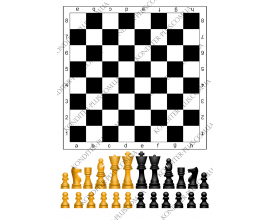 вафельная картинка шахматная доска
