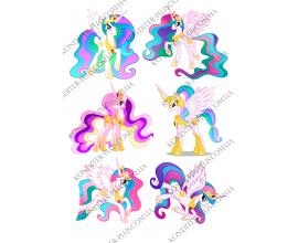 вафельная картинка my little pony 3