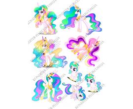 вафельная картинка my little pony 4