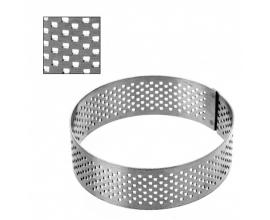 кольцо перфорированное d- 8 см, h- 2.5 см