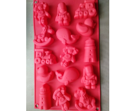 силиконовая форма детская 4,5-6 см на 1,5 см