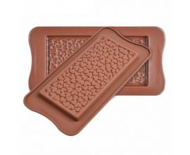 силиконовая форма для шоколода сердца