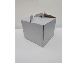 коробка для торта 20*20*25 без окна