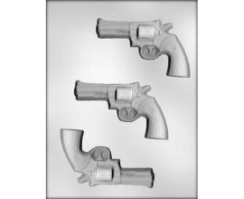 пластиковая форма револьвер, 11*7 см