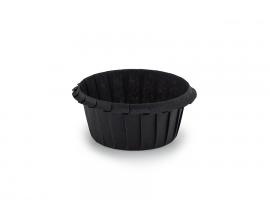 формочка для кексов усиленная 55*35, черная