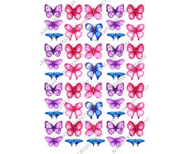 вафельная картинка бабочки 14