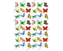 вафельная картинка бабочки 15