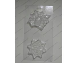 пластиковая форма паутина +паук, 8 и 10 см