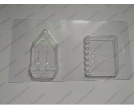 пластиковая форма карандаш+тетрадь. 9*5 и 6,5*7,5