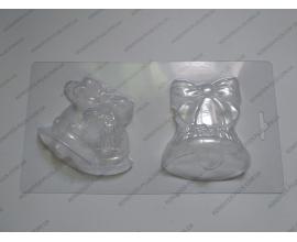 пластиковая форма 2 колокольчика