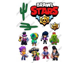 вафельная картинка brawl stars 19