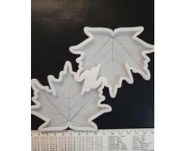молд для леденцов кленовый лист, 8*10 см
