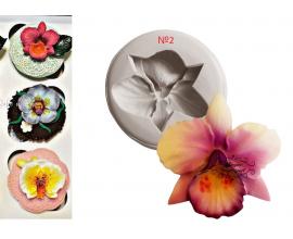 молд орхидея №2, 5 см