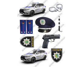 вафельная картинка полиция