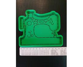 вырубка+оттиск швейная машинка, 13 см