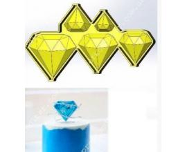 молд для леденцов драгоценные камни 3-4-5-6-7 см