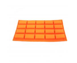 силиконовая форма прямоугольник 5 * 2,5* 1см