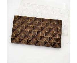 плитка шоколада ромб-грани