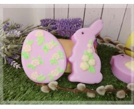 пластиковая форма яйцо с цветочками