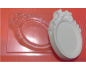 пластиковая форма  рамка №2, 10*7 см