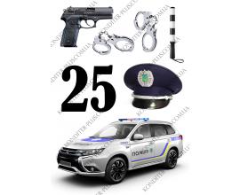 вафельная картинка полиция 2