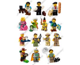 вафельная картинка 6 см персонажи lego № 12