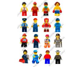 вафельная картинка 6 см персонажи lego № 10