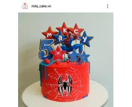 вафельная картинка человек паук и паутина