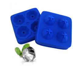Силиконовая форма для кейк-попсов Алмазы
