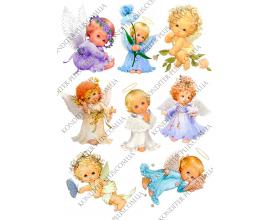 вафельная картинка ангелы