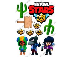 вафельная картинка brawl stars 28
