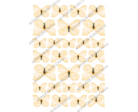 вафельная картинка бабочки 27