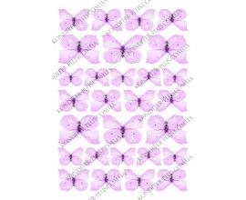 вафельная картинка бабочки 26