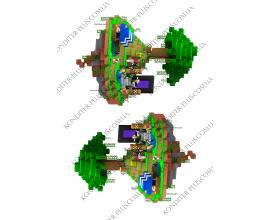 вафельная картинка майнкрафт 23 (16 см)