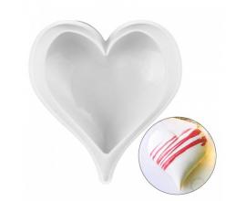 форма для евро десертов сердечко, 590 мл