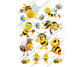 вафельная картинка пчелки №5