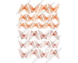 вафельная картинка бабочки 33